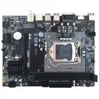 H61 Computer Motherboard LGA1155 Socket DDR3 RTL8105E Gigabit LAN Desktop System Board with VGA HDMI RJ Port H61 C