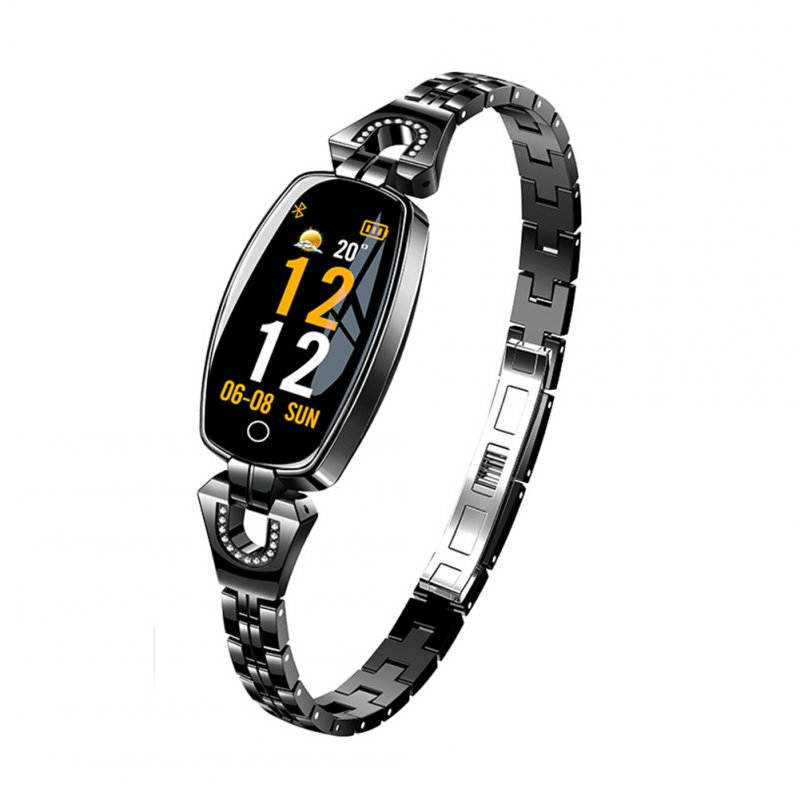 H8 Women Exquisite Fitness Smart Watch Black