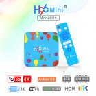 H96 MINI Allwinner H6 Quad Core 64-bit Smart TV Box H.265 Wifi HD Google Player Youtube Set Top Box  4G+32G