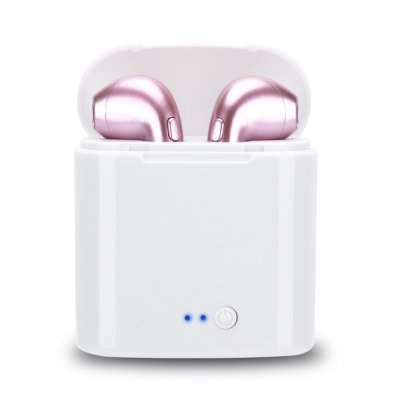 HBQ i7s TWS Wireless Mini Earbuds-Rose Gold