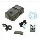 HC-350A Track Camera 16MP HD 1080P Infrared Night-Vision Camera for Wildlife Monitoring and Home Security Camouflage