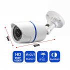 HD 1080P Outdoor IR Video Camera Security System Motion Detector with Night Vision NTSC 3 6MM