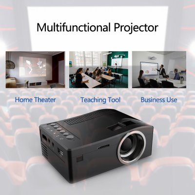 HD 1080P TFT LCD Home Mini Projector