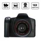 HD 1080P Video Camcorder Handheld Digital Camera 16X Zoom Digital Camera black