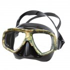 HD Silicone Diving Snorkeling Goggles Masks Dive Gear Scuba Diving Mask camouflage_free size