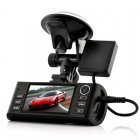 HD Dual-Camera Car DVR + GPS Log - Napravlja