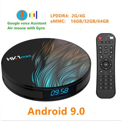 HK1 Max Smart TV Box - 4G + 64G, US Plug