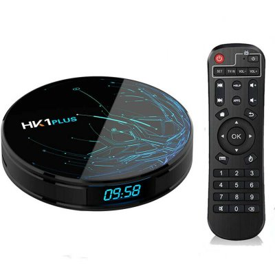 HK1 PLUS Android 64GB ROM WiFi TV Box US Plug