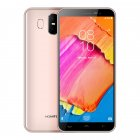 HOMTOM S17 Smartphone Android 8 1 Quad Core 5 5  18 9 Full Screen Face ID Fingerprint 2GB RAM 16GB ROM Gold EU Plug