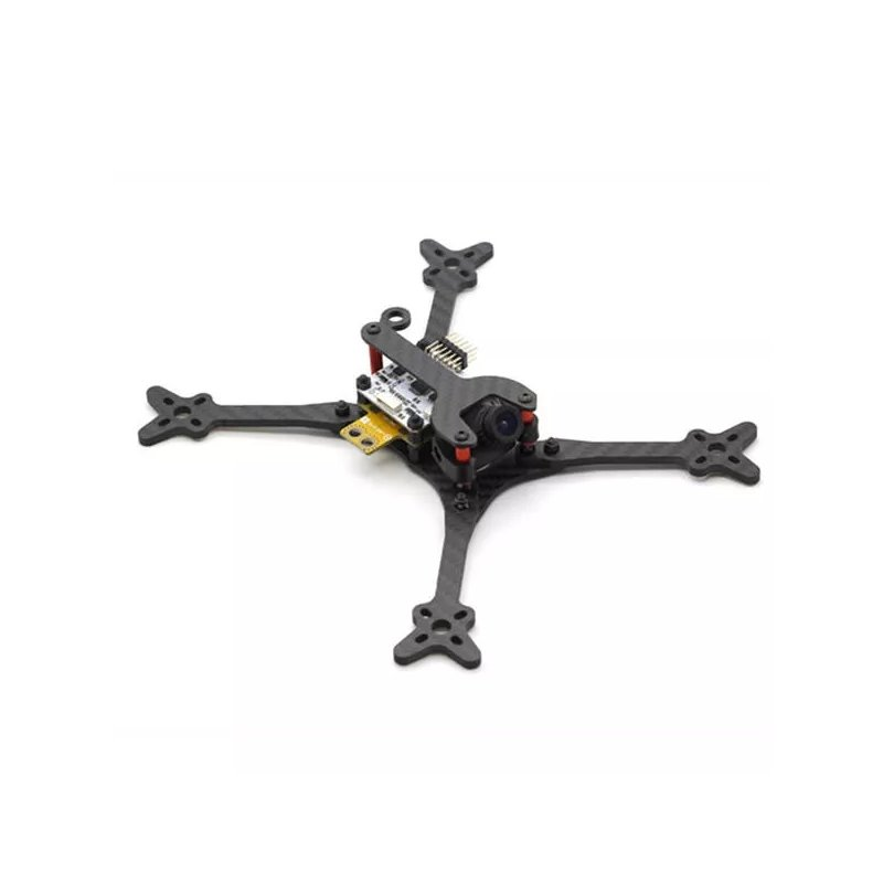 HSKRC Foss 210 210mm Wheelbase 4mm Arm 3K Carbon Fiber 5 Inch FPV Racing Frame Kit for RC Drone 210mm