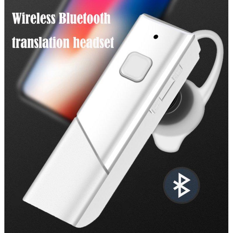 Wireless Bluetooth5.0 Translation Earphone Real Time Translator Stereo Headset