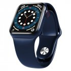 HW12 HW16 Full Screen Smart Watch 44mm 40mm Men Women Multifunction Smartwatch blue