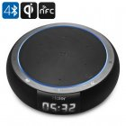 Haier wireless charging Bluetooth speaker with NFC  Bluetooth 4 0  and 360 degree surround experience