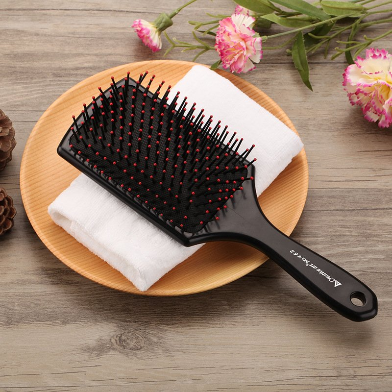 Hair Comb Beauty Anti-Static Haircare Airbag Massage Hair Brush black_Normal specifications