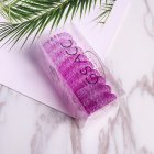 Hair Ties Coil Hair Ties, Phone Cord Hair Ties  Color Gradient  3# gradient purple