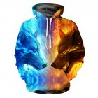 Men/Women Cool Hooded Pullover Tops