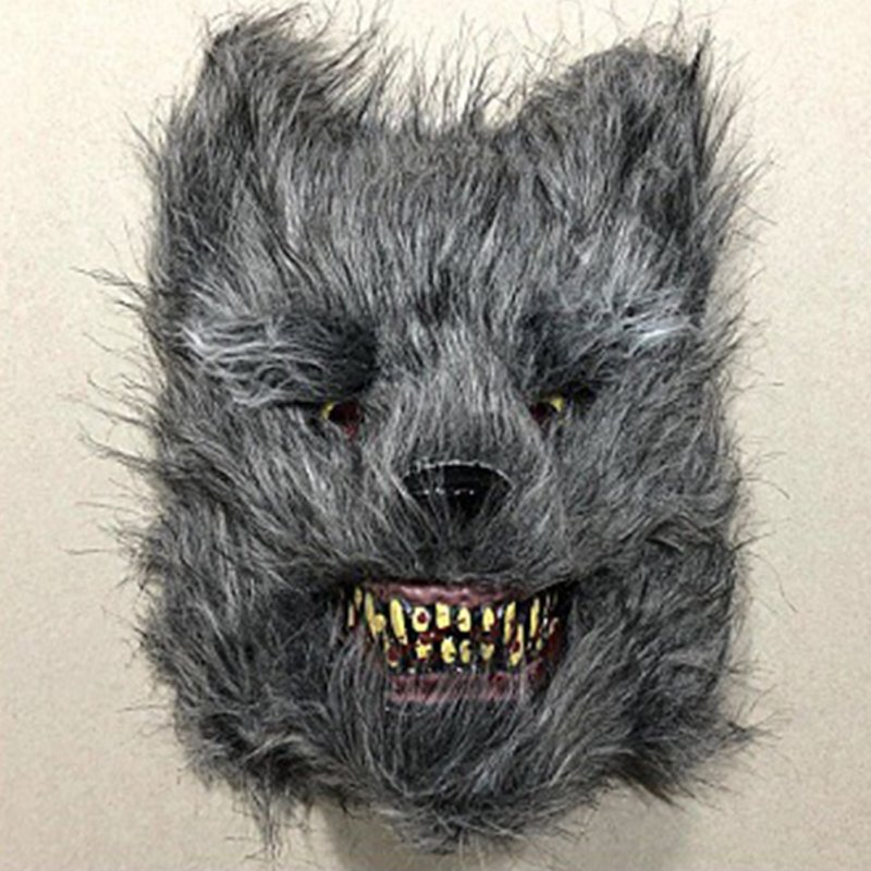 Scary Animal Halloween Masks.Wholesale Halloween Bloody Animal Mask Horror Mask Cosplay Party Scary Mask Wolf Mask From China