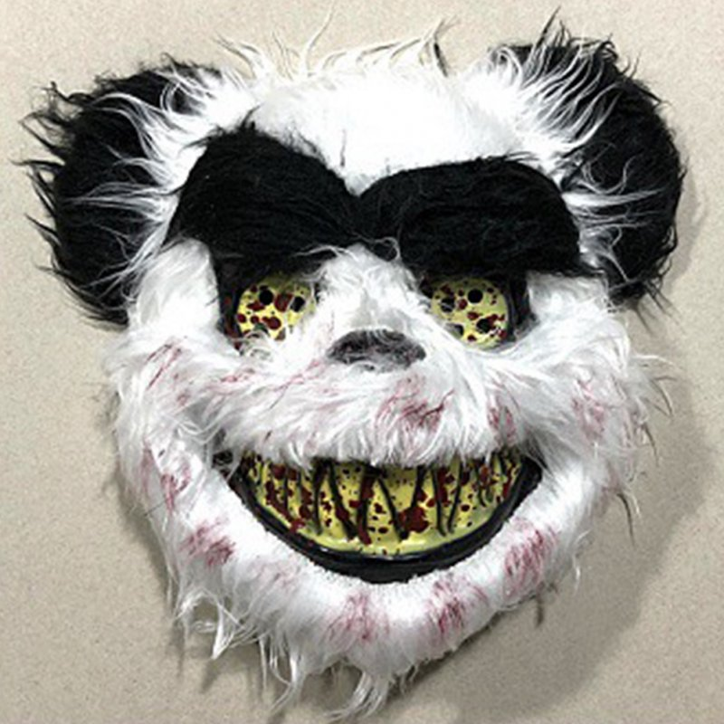 Scary Animal Halloween Masks.Wholesale Halloween Bloody Animal Mask Horror Mask Cosplay Party Scary Mask Panda Mask From China