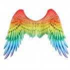 Halloween Carnival Decoration Rainbow Color Angel Big Wing Rainbow angel wings