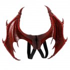 Halloween Carnival Kids Dress Up Toy Devil Wings for Children Red foaming single wings