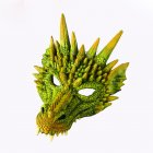 Halloween Carnival Party PU Foam 3D Animal Dragon Mask Green dragon mask