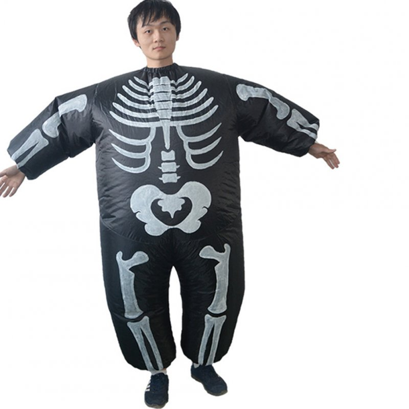 Halloween Devil Costume Cosplay Party Prop Toy Inflatable Costume Clothes black