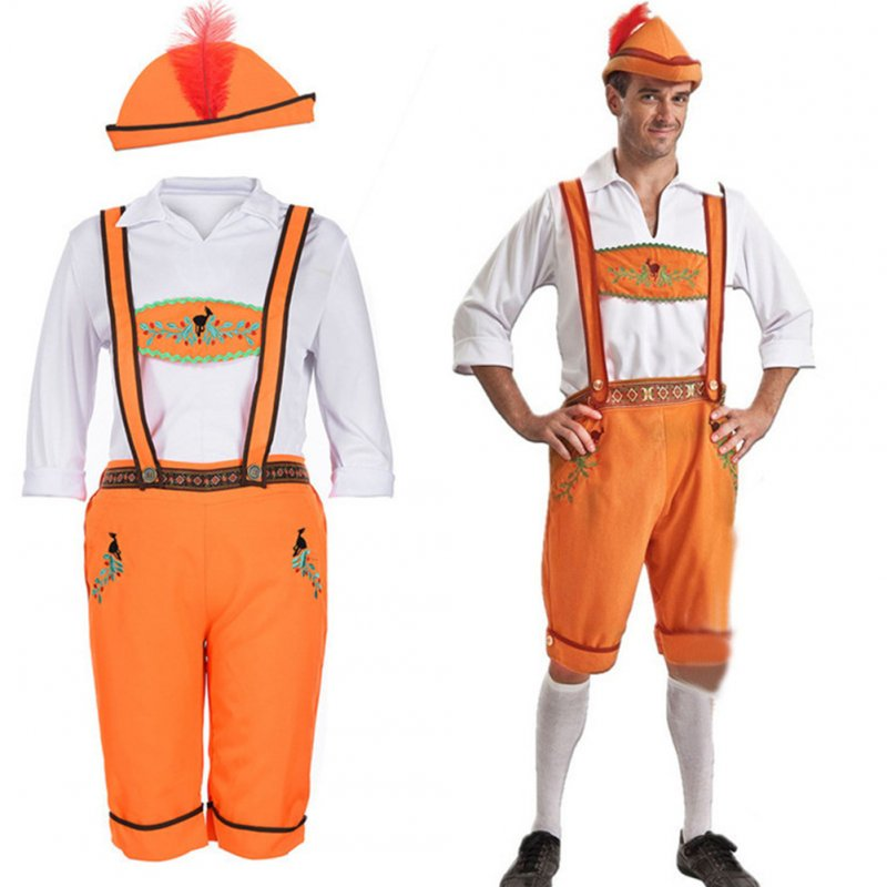 Halloween Fashion Unisex Oktoberfest Festival Costumes Promotional  Clothes male_XL