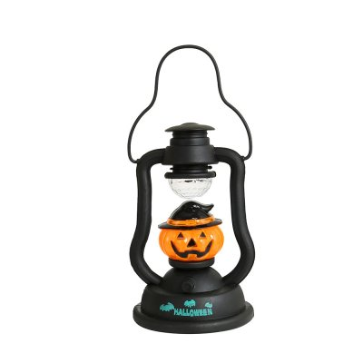 Halloween Flashing Light Pumpkin Decorations Lantern Halloween Portable Kerosene Pumpkin Lamp Night Light pumpkin