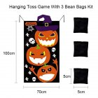 Halloween Game Installation Outdoor Sandbag Throwing Game Felt Game Halloween Curtain Decoration Type B