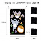 Halloween Game Installation Outdoor Sandbag Throwing Game Felt Game Halloween Curtain Decoration D section