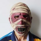 Halloween Mask Terror Mask Mummy Mask Halloween Decoration red