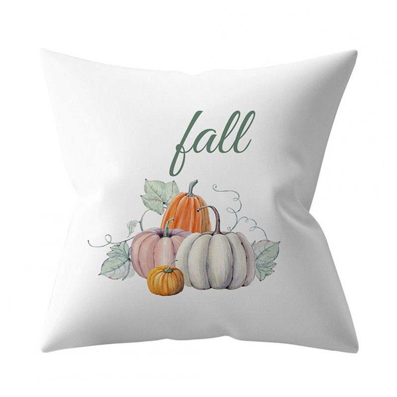 Halloween Pumpkin Pillow Case Home Sofa Cushion Pillow Cover 4_45*45cm