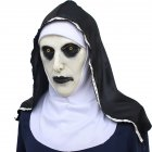 Halloween Scary Nun Mask Full Head Latex Headgear Cosplay Costume Accessory