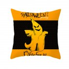 Halloween Series Orange Geometric Pillow Cover Home Party Decoration TPR184-7_45*45cm (without pillow)