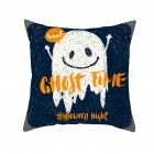 Halloween Series Orange Geometric Pillow Cover Home Party Decoration TPR184-28_45*45cm (without pillow)