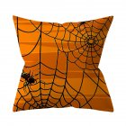 Halloween Series Pattern Throw Pillow Cover for Sofa Living Room Supplies 1#_45*45cm