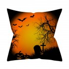 Halloween Series Pattern Throw Pillow Cover for Sofa Living Room Supplies 2#_45*45cm