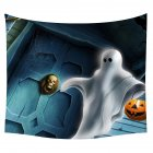 Halloween Series Printing Trick Treat Wall Hanging Tapestry Home Decor Party Decoration 11#_150*130cm