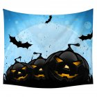 Halloween Series Printing Trick Treat Wall Hanging Tapestry Home Decor Party Decoration 16#_150*130cm