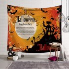 Halloween Series Printing Hanging Tapestry for Wall Decor Beach Use GT-000215_153x130
