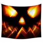 Halloween Series Printing Trick Treat Wall Hanging Tapestry Home Decor Party Decoration 2#_150*130cm