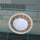 Hand Weaving Bird Nest for Serinus Canaria Canary Breeding hemp rope large