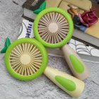 Handheld Fan USB Rechargeable Cooler with Night Light Table Desktop Cooling Fan green 19 5x9 5x4