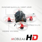 Happymodel Mobula6 HD Mobula 6 1S 65mm Crazybee F4 Lite 1S Whoop FPV Racing Drone BNF w/ Runcam Split 3 lite 1080P HD DVR Camera Frsky