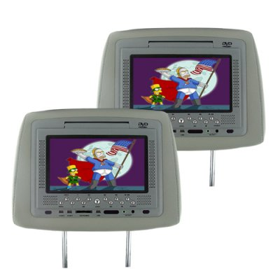 7 Inch Car Headrest Monitor Pair
