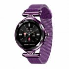 H1 Women Fashion Smart Watch - Purple