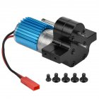 HengLong WPL B-1 B-14 B-24 B24 C14 C-14 1/16 Military Truck RC Car Upgrade Motor + Gearbox + Metal Drive Black