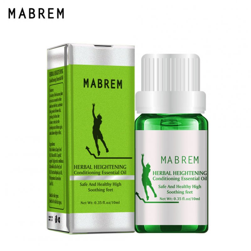 Herbal Height Increasing Conditioning Essential Oil Body Grow Taller Essential Oil Promot Bone Growth  10ML