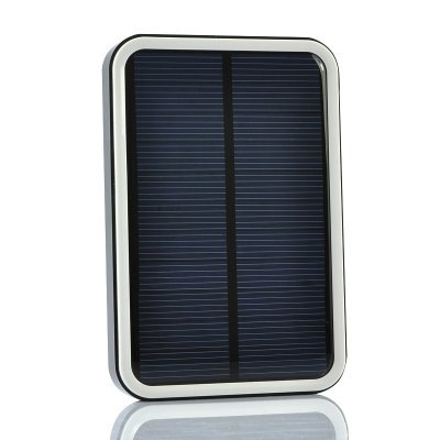 7000mAh Solar Power Bank w/ 10 in 1 USB Cable