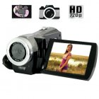 High Definition Camcorder with 3 Inch Flip LCD  720P    Record all your experiences in high   definition up to 60FPS
